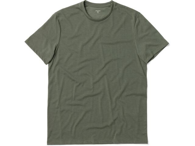 Houdini Big Up Camiseta Manga Corta Hombre, Oliva